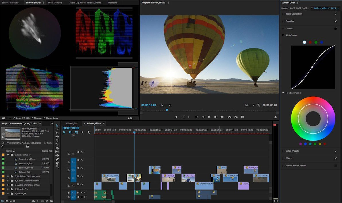 Adobe Premier – Video Editing